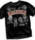 Arizona Coyotes Team Adult Size T - Shirt Black