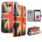 Wallet Flip Leather Card Slot Phone Accessories Soft Rubber Case Cover For LG G3