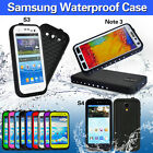 Waterproof Shockproof Cover Case For Samsung Galaxy Note 3 S3 S4