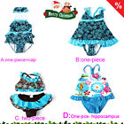 IMAKA BRAND Beachwear Cute Baby Toddler Girls Swimsuit Swimwear Skirt SZ 2-11Y