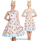 RKP42 Hell Bunny Foxy 50's Dress Rockabilly Pin Up Floral Retro Party Swing