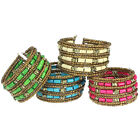 Ladies Bohemian Charming Beaded Bangle Bracelet Multilayer Jewelry New GFY