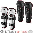 EVS OPTION KNEE SHIN GUARDS YOUTH KIDS CHILDRENS MOTOCROSS MX ARMOUR GUARD PADS