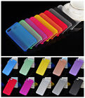 Colorful 0.3mm Ultra Thin Slim Crystal Clear PP Hard Case Cover for iPhone 5 5S