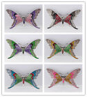 Trendy 6 Colors Rhinestone Crystal Alloy Butterfly Pin & Brooch Gift For Women
