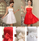 2014 Bridesmaid Evening Wedding Suit Prom Ball Short Formal Womens Party Dresses