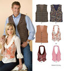 Sew & Make Simplicity 6839 SEWING PATTERN - Adult Unisex Fitted FASHION VESTS