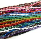 4mm Natural Gemstones Faceted Round Beads 15