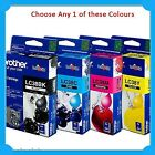 Any 1x Brother Genuine LC38 BK/C/M/Y Ink Cartridge-  DCP-145C/165C/195C/375CW