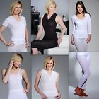 Ladies Thermal Underwear Short or Long Sleeved Vests & Long John Janes Ski Wear