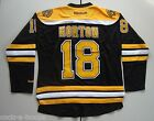 Boston Bruins #18 Nathan Horton Reebok Black Premier NHL Jersey NEW Size L