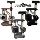 JUST4PETS PET CAT KITTEN DELUXE SCRATCH SCRATCHING POST ACTIVITY PLAY FUN CENTRE