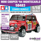 COMBO DEAL! 58483 TAMIYA MINI COOPER 1994 MONTE-CARLO RALLY CAR 1/10th R/C KIT