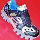 NEW Boys Youth SKECHERS STREET LIGHTZ 90470 BLUE LIGHTS Fashion Sneakers Shoes