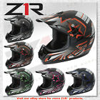 Z1R Roost Launch Offroad MX Enduro Motorcycle DOT Helmet