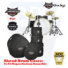 Ahead Armor Drum Set Cases/Bags for Mapex Horizon Fusion & Rock Fusion Kit Sizes