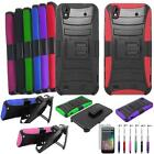 Phone Case For Straight Talk ZTE Quartz Z797C Holster Cover USB Flim Stylus