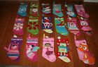 NWT Target Felt Appliqued Christmas Stocking ~Various Colors & Designs~