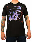 Men's Franky by Mike Bell Classic Frankenstein Monster Halloween Black T-Shirt
