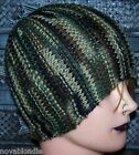 Hand Knit Beanie Ponytail Hat Ski Cap Cloche OOAK New Choice Winter Warm Wool