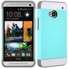 HTC One Case M7 Model - Vivid Hybrid Dual Layer Protective Hard Phone Cover Skin