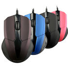 New Optical LED USB 2.0 Wired Gaming Mouse Mice Adjustable For PC Laptop SBU