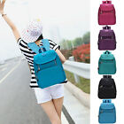 Korean Style Womens Girls Canvas Backpack Travel Rucksack School Bags Fashion
