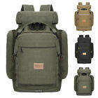 Fashion Mens Canvas Backpack Large Capacity Travel Rucksack Outdoor Hiking Bags
