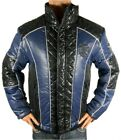 NEW ED HARDY BY CHRISTIAN AUDIGIER MEN'S PREMIUM PUFFER HOT NYLON JACKET BLUE