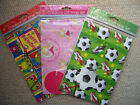Childrens Gift Wrap Wrapping Paper Football Fairy & Monsters 3 Designs Birthday