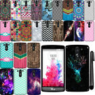 For LG G3 mini Vigor D725 Cute Design TPU SILICONE Rubber Case Phone Cover + Pen