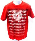 Portland Trail Blazers Basketball Short Sleeve Repeat T-Shirt Red