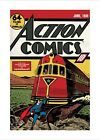Action Comics Another Thrilling Adventure for Superman! Mini Print 40x50cm