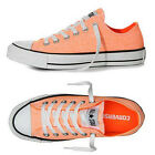 CONVERSE CHUCK TAYLOR AS CORE Orange Washed Neon Special All Star Sneakers Women