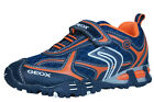 Geox J LT Eclipse A Boys Trainers / Shoes - Navy - C0820 See Sizes