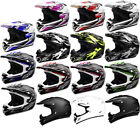 SHOX MX-1 MOTOCROSS ATV QUAD OFF ROAD MX PIT BIKE MOTO-X ENDURO MOTORBIKE HELMET