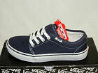 VANS 106 VULCANISED LACE UP TRAINERS. NAVY TEXTILE. BNIB