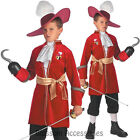CK314 Captain Hook Pirate Peter Pan Disney Book Week Boys Child Costume Outfit