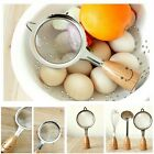 Wire Kitchen Ware Wooden Designer Stainless Steel Colander Sifter Strainer