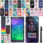 For Samsung Galaxy Alpha G850 Cute Design HARD Back Case Phone Cover + Pen