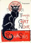 New Tournee du Chat Noir Theophile Alexandre Steinlen Metal Tin Sign