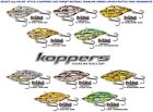 Koppers Live Target Yearling Baitball Crankbait Lipless Rattle Traps Any YRB