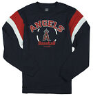 MLB Baseball Kids / Youth Los Angeles Angels Long Sleeve Shirt - Navy Blue