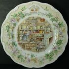 ROYAL DOULTON china BRAMBLY HEDGE Jill Barklem STORE STUMP Salad Plate 8""