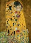 New The Kiss' by Gustav Klimt Fine Art 4 Sheet Wall Mural Wall Mural