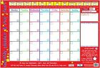 New Monthly Planner and Star Chart Children's Planner Mini Poster