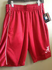 University of Alabama Men's Red Athletic Gym Shorts with White Script A
