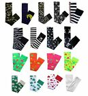 Colourful Pattern Skulls Neon Over the Knee Fun Fancy Dress Socks
