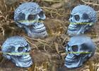 NEW DESIGNS LATEX MOULDS MOLDS TO MAKE SMALL DETAILED ORNAMENT SKULL 4 DESIGNS