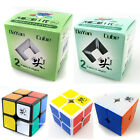 Dayan zhanchi 2x2x2 Speed Magic Cube Stickerless & black & White (50mm & 46mm)